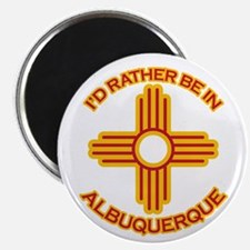 "I'd Rather Be In Albuquerque 2.25"" Magnet (100 pac"