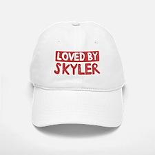 Loved by Skyler Baseball Baseball Cap