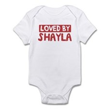 Loved by Shayla Infant Bodysuit