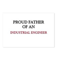 Proud Father Of An INDUSTRIAL ENGINEER Postcards (