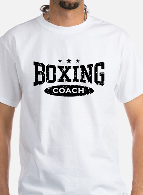 Boxing coach t shirts shirts tees custom boxing coach for Custom boxing t shirts