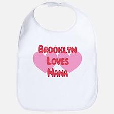 Nana Loves Brooklyn Bib