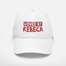 Loved by Rebeca Baseball Baseball Cap