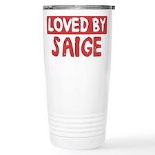 Loved by Saige Travel Coffee Mug