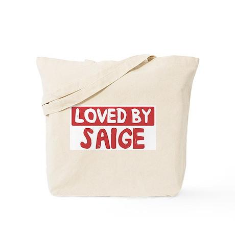 Loved by Saige Tote Bag