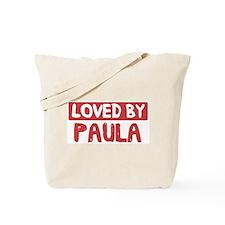 Loved by Paula Tote Bag