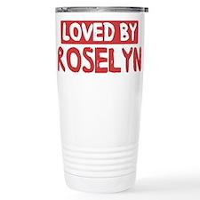Loved by Roselyn Travel Mug