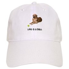 Golden Retriever Life Baseball Cap