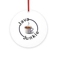 Java Junkie Ornament