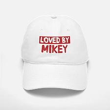 Loved by Mikey Baseball Baseball Cap