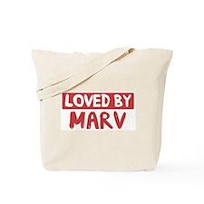 Loved by Marv Tote Bag