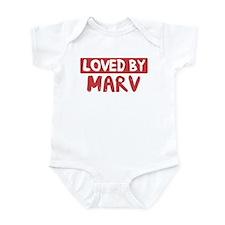 Loved by Marv Infant Bodysuit