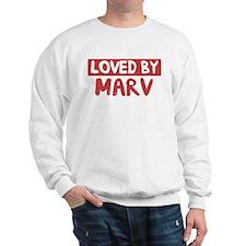 Loved by Marv Sweatshirt