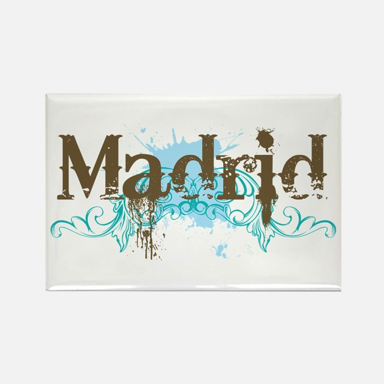 Madrid Rectangle Magnet
