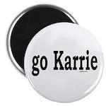 go Karrie Magnet