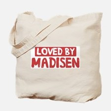 Loved by Madisen Tote Bag