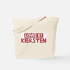 Loved by Kiersten Tote Bag