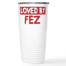 Loved by Fez Travel Mug