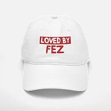 Loved by Fez Baseball Baseball Cap