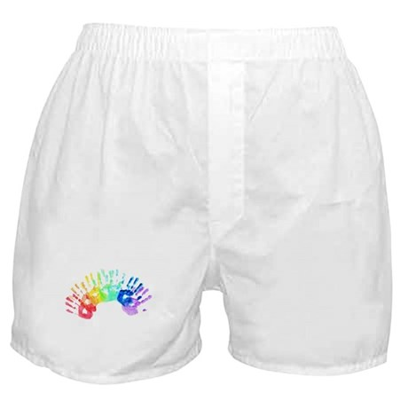 Rainbow Hands Boxer Shorts