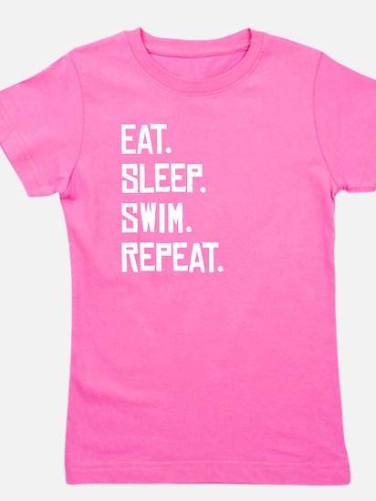Eat Sleep Swim Repeat T-Shirt