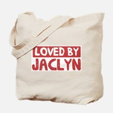 Loved by Jaclyn Tote Bag