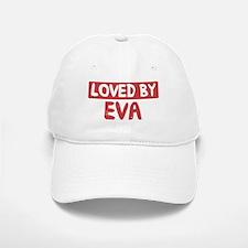 Loved by Eva Baseball Baseball Cap