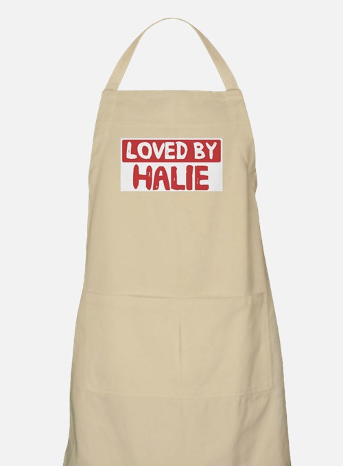 Loved by Halie BBQ Apron