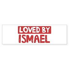 Loved by Ismael Bumper Bumper Sticker