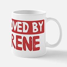 Loved by Irene Mug