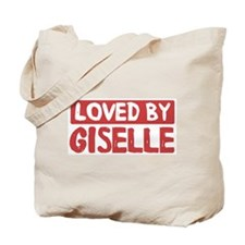 Loved by Giselle Tote Bag