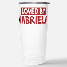 Loved by Gabriela Stainless Steel Travel Mug