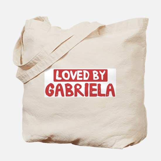 Loved by Gabriela Tote Bag