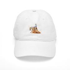 Reining horse Baseball Cap