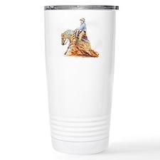 Reining horse Travel Coffee Mug