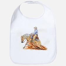 Reining horse Bib