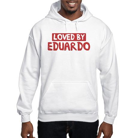 Loved by Eduardo Hooded Sweatshirt