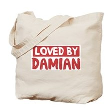 Loved by Damian Tote Bag