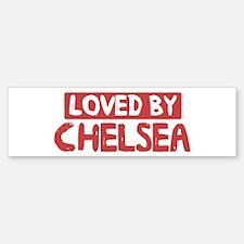 Loved by Chelsea Bumper Bumper Bumper Sticker