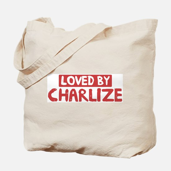Loved by Charlize Tote Bag