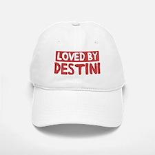 Loved by Destini Baseball Baseball Cap