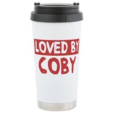 Loved by Coby Travel Mug