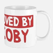 Loved by Coby Small Small Mug