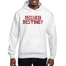 Loved by Destiney Hoodie Sweatshirt