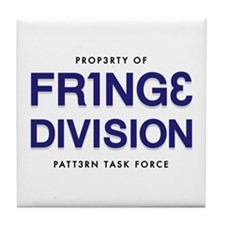 FRING3 DIVI5ION Tile Coaster