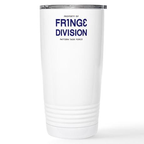 FRING3 DIVI5ION Stainless Steel Travel Mug