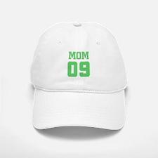 Green Mom 09 Baseball Baseball Cap