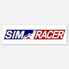 SimRacerLogo Bumper Bumper Bumper Sticker