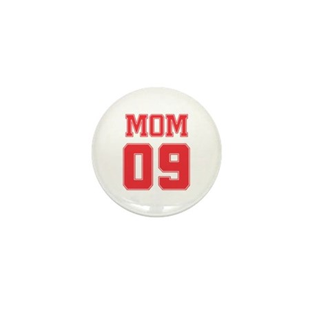 Red Mom 09 Mini Button (10 pack)