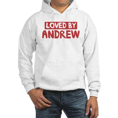 Loved by Andrew Hooded Sweatshirt